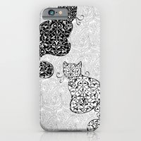 Black Cat White Cat iPhone 6 Slim Case