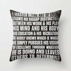 Always Be You-Black Throw Pillow