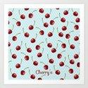 Cherry's Art Print
