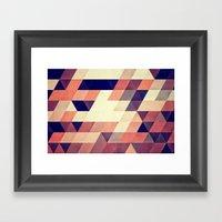 TRYYNGL MYX Framed Art Print