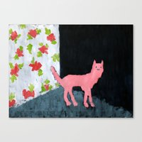 Dog Room Canvas Print