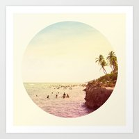 Salt Water Dreams Art Print
