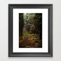 Fairytale Forest Framed Art Print
