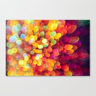Light And Shimmer Canvas Print