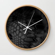 Typhon Camouflage Pattern Wall Clock