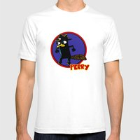 Perry The Platypus As Di… Mens Fitted Tee White SMALL