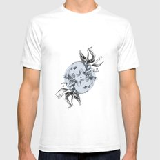 Cosmic Dancer Mens Fitted Tee White SMALL