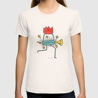 jubilation Womens Fitted Tee Natural SMALL