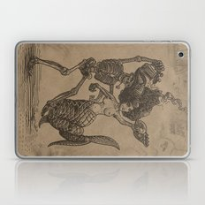 Dancing Mermaid and Skeleton Laptop & iPad Skin