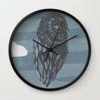 Hot Owl Balloon Wall Clock