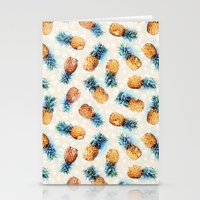 Pineapples + Crystals  Stationery Cards