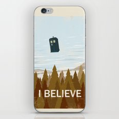 I Believe In The Doctor iPhone & iPod Skin