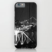 iPhone & iPod Case featuring WHITEOUT : Standing 'Top the Bright Lit City by Kelsey Pohlmann