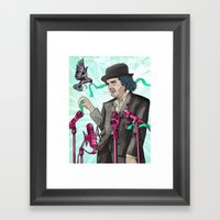 I'm Exhausted From Tryin… Framed Art Print