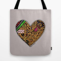 mini heart Tote Bag