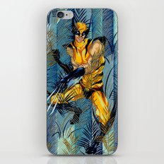 Wolverine Japan Forest iPhone & iPod Skin