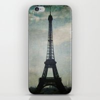 Eiffel Tower In The Stor… iPhone & iPod Skin