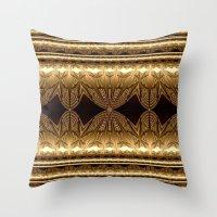 The gilded era Throw Pillow