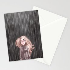 Awaiting For the Rain Stationery Cards
