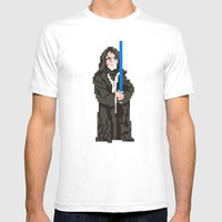 May The Force Be With Yo… Mens Fitted Tee White SMALL