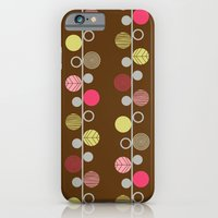 iPhone & iPod Case featuring Linear Dots by shiny orange dreams