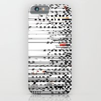 Black and White Noise iPhone 6 Slim Case