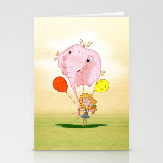 balloon Stationery Card