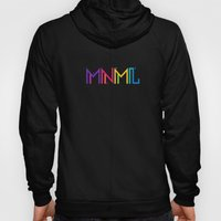 Minimal Type (Colorful Edm) Typography - Design Hoody