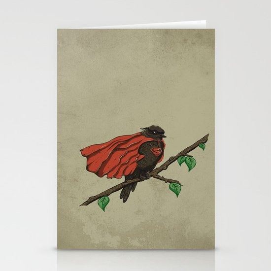 Super Bird Stationery Card