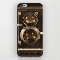 Twin Lens Reflex iPhone & iPod Skin