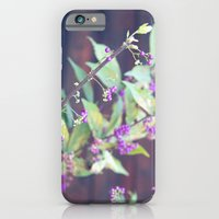 iPhone & iPod Case featuring Japanese Purple by Yolene Dabreteau Photography