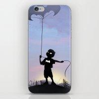 Bat Kid iPhone & iPod Skin