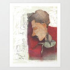 Gregor Samsa Art Print