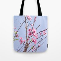 Portuguese Blossoms Tote Bag