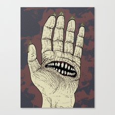 Hungry Hand Canvas Print