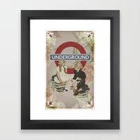The Underground Framed Art Print