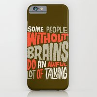People Without Brains iPhone 6 Slim Case