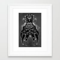 post rammy Framed Art Print