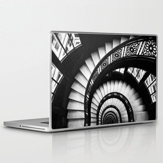 The Downward Spiral Laptop & iPad Skin