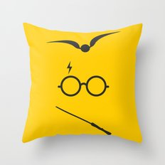 hp minimal 03 Throw Pillow