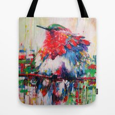 colorful bird- nature  Tote Bag