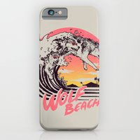 Wolf Beach iPhone 6 Slim Case