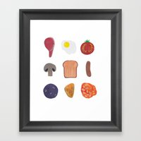 Full English Framed Art Print