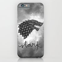 iPhone & iPod Case featuring House Stark by christinarashel