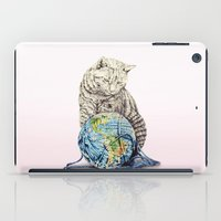 In which our feline deity shows restraint  iPad Case