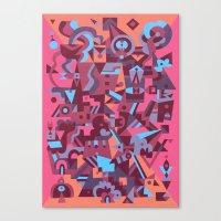 Schema 12 Canvas Print