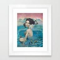 Whirlpool Framed Art Print