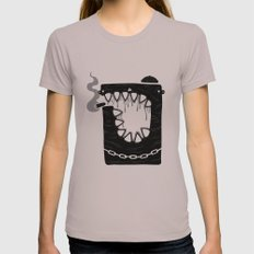 Zombie Hoodlum Womens Fitted Tee Cinder SMALL