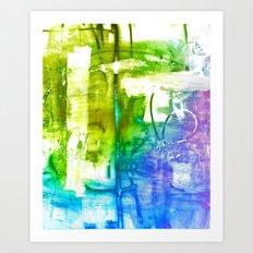 Purple Olive Art Print