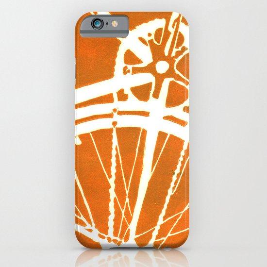 Orange Bike iPhone & iPod Case